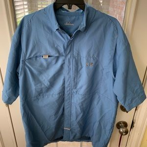 Men's Large Under Armour Fishing Shirt